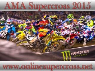 Watch AMA Supercross at Petco Park online live
