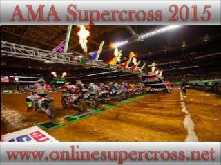 watch AMA Supercross at Petco Park live telecast