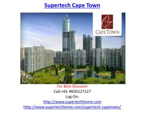 Supertech Cape Town Luxury Project