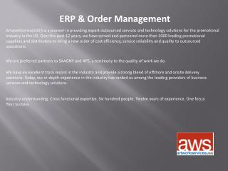 ERP and Order Management Services
