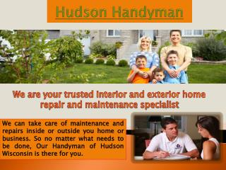 Handyman in Hudson WI