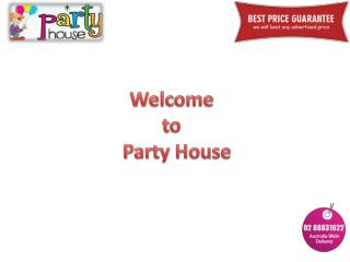 Party House - Online Party Supplies