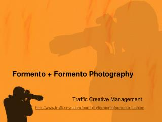 Formento and Formento Photography Portfolio by Traffic Creat