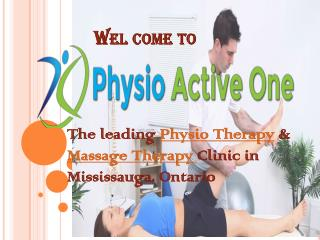 Physical Therapy & Massage Therapy Clinic in Mississauga