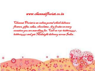 Chennai Florist