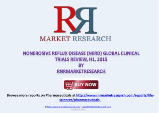 Nonerosive Reflux Disease (NERD) Clinical Trials Review 2015