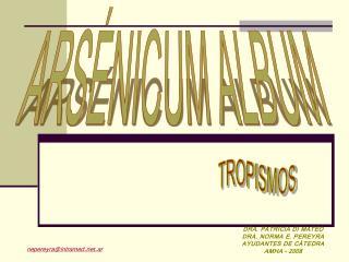 ARSÉNICUM ALBUM