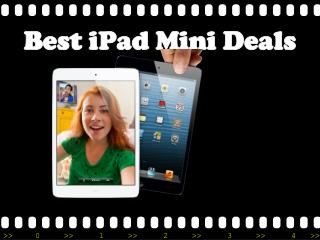 Apple iPad Mini Deals: Affordable Monthly Repayment Option