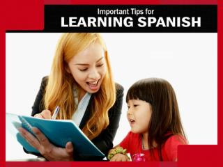 Online Spanish Lessons – Essential Tips
