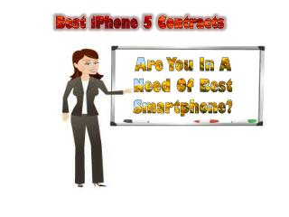 iPhone 5 Contract: More Upgraded Plans With This Set