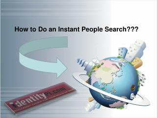 How to Do an Instant People Search
