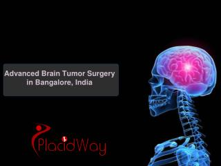 Advanced Brain Tumor Surgery in Bangalore, India