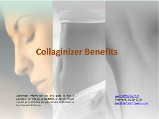 Benefits of Collaginizer Wstchester NY
