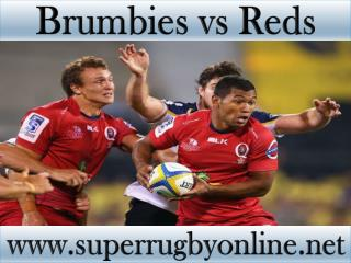 watch Brumbies vs Reds