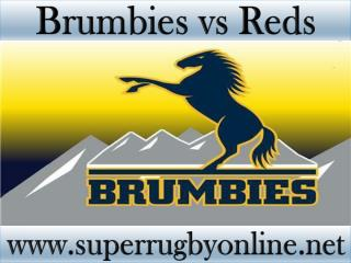 watch Brumbies vs Reds live Super rugby