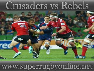 watch Crusaders vs Rebels online live