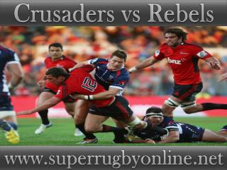 live Crusaders vs Rebels stream online