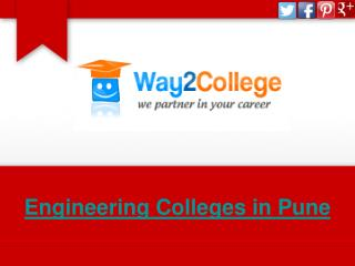 Engineering Colleges in Pune- Way2College