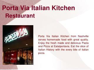 Best Franklin Italian Restaurent