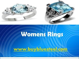 Womens Rings at buybluesteel