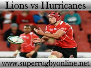 live Lions vs Hurricanes on ios android