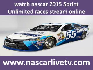watch 2015 Sprint Unlimited nascar races stream online