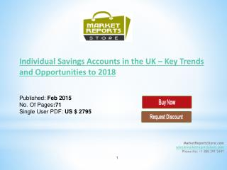 New Industry trends in the UK Individual Savings Accounts