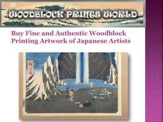 Authentic Woodblock Printing Artwork