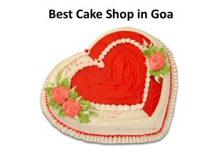 Best Cake Shop in Goa