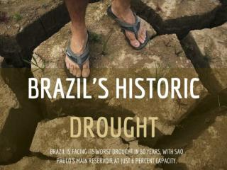 Brazil's historic drought