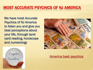 Most Accurate Psychics of NJ America