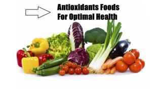 Analysis of Antioxidants