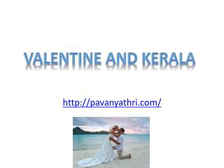 Valentine in Kerala Backwaters