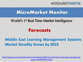 Middle East Learning Management Systems Market