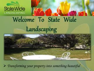 Residential Landscaping in Perth - State Wide Landscaping