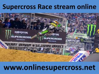 watch Supercross Arlington 2015 live online