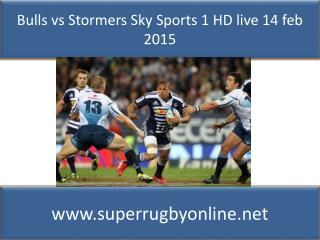 Watch Bulls vs Stormers - live Super Rugby streaming
