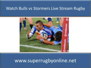 Watch Rugby online Bulls vs Stormers