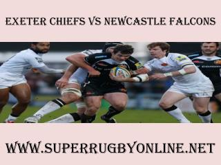 rugby Chiefs vs Newcastle Falcons live match