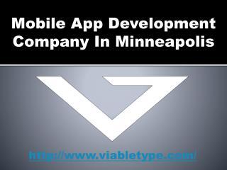 Mobile App Development Company Minneapolis
