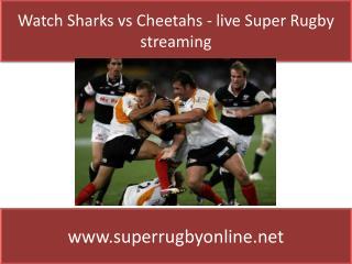 watch Super rugby Sharks vs Cheetahs online