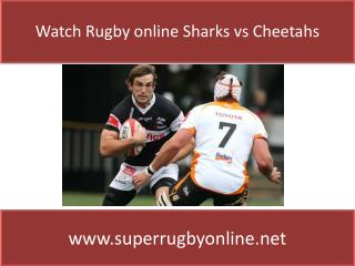 Sharks vs Cheetahs Live online Super Rugby Online Streams