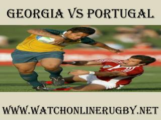 watch Georgia vs Portugal live stream