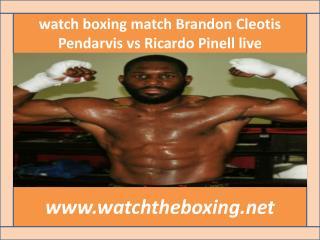 watch Ricardo Pinell vs Cleotis Pendarvis full fight cad >>>
