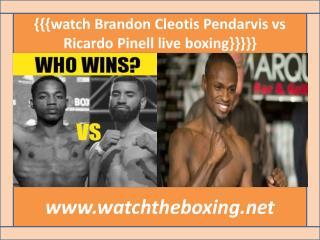 live boxing fight Ricardo Pinell vs Cleotis Pendarvis online