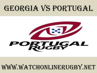 watch Georgia vs Portugal online rugby match