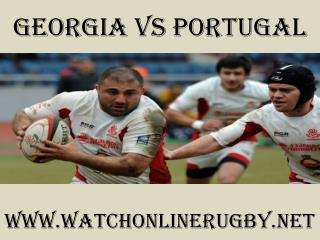 6 Nations rugby Georgia vs Portugal