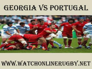 watch here online Georgia vs Portugal live coverage