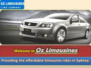 Sydney Limousine Hire - OZ Limousines